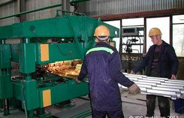ТОО «АЗОК», изготовление металлочерепицы