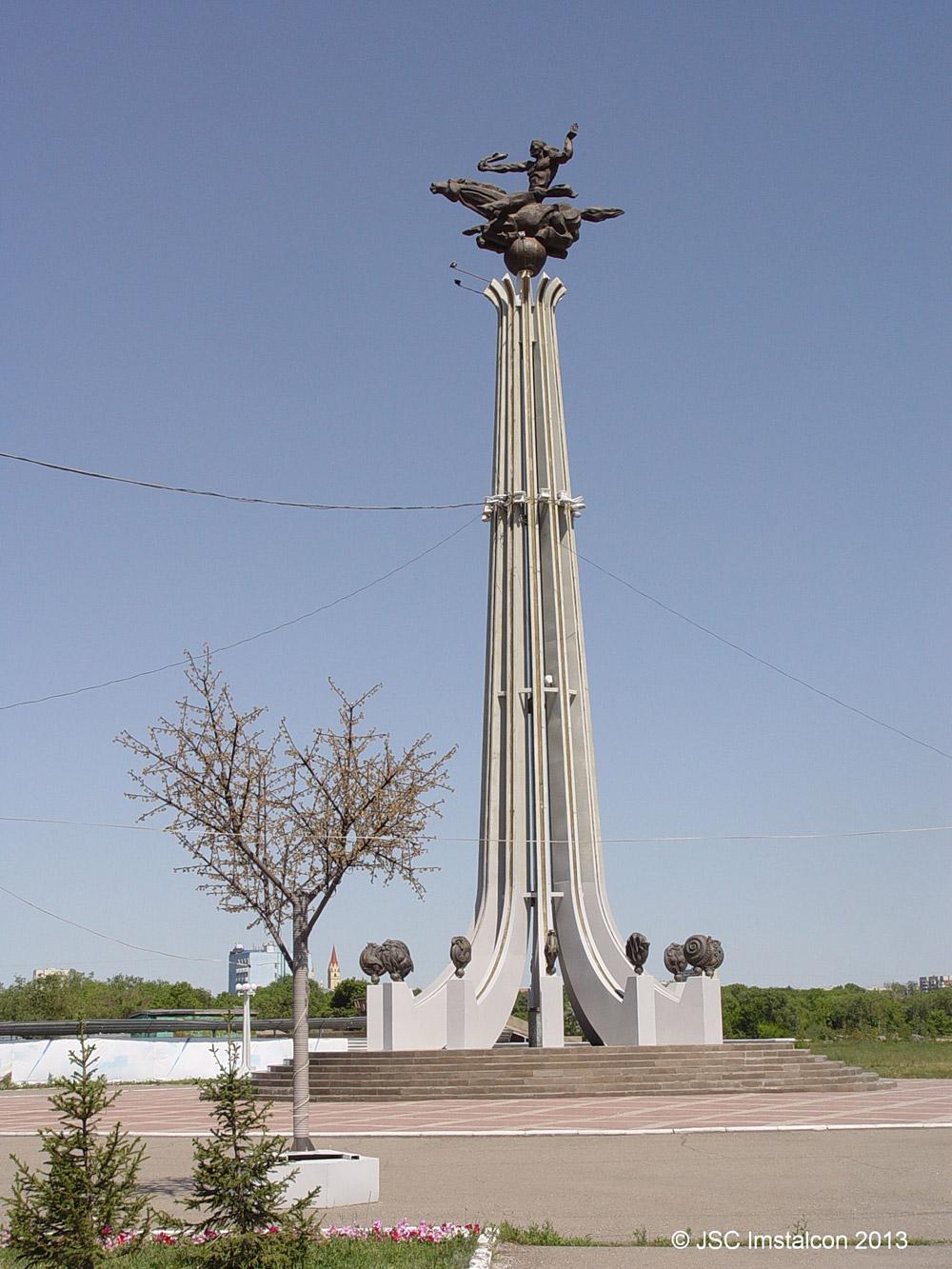 Скульптурно-декоративная композиция «Суюнши» в г. Караганда
