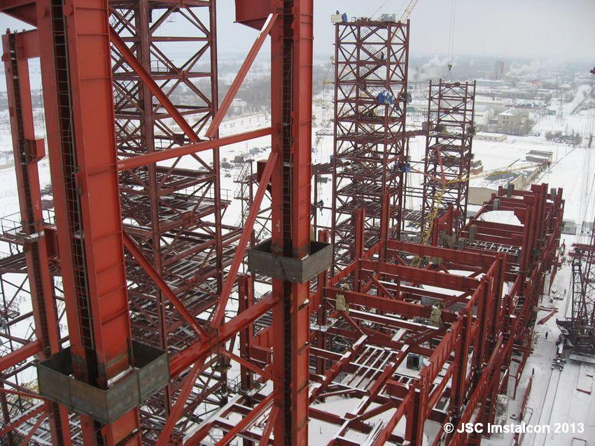 Актюбинский завод ферросплавов. Плавильный цех №4