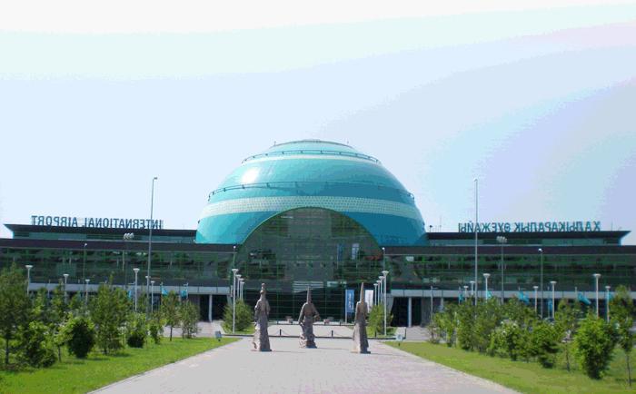 Реконструкция международного аэропорта в г. Астане