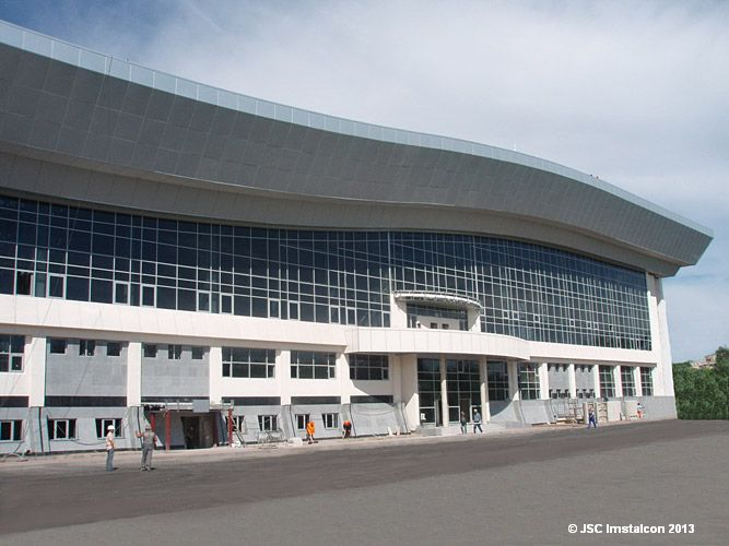 Крытый теннисный корт на 2 600 мест, г. Астана